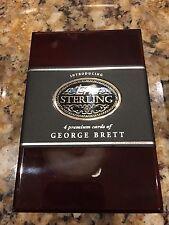 GEORGE BRETT 2006 Topps Sterling EMPTY Cherry Wood Box KC Royals HOF