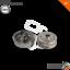 Indexbild 1 - 2x A.B.S. Bremstrommel SET/Satz hinten rechts und links für NISSAN
