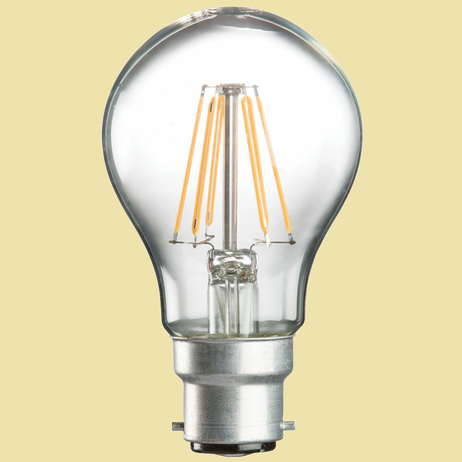 60w Light Bulb replacement in LED GLS 6w B22(Bayonet) E27(Screw) No xtra postage
