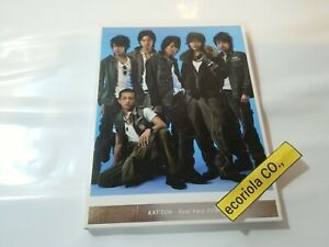 KAT-TUN-Real-Face-Film-Japanese-Idle-Johnnys-DVD-KAMENASHI-Akanishi-TAGUCHI