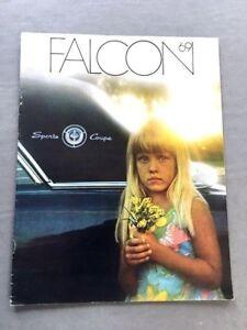 Coupe Sedan /& Wagon Car Dealer Brochure Original 1969 Ford Falcon /& Futura