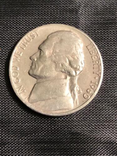 1960 D Jefferson Nickel 15/% off 5+