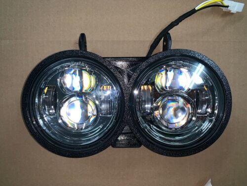 Buell LED Headlight Module XB9S XB12S direct bolt on w// chrome reflector