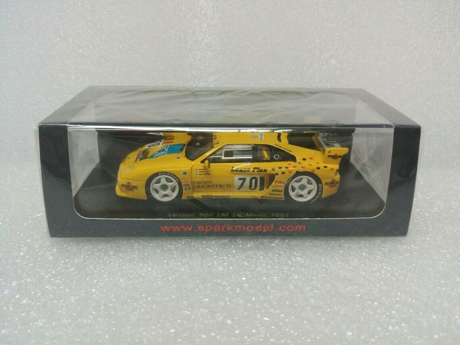 Venturi 500 LM n.70 Le Mans 1993 SPARK MODEL 1 43  S2277