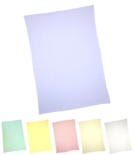 Pram Crib BabyPrem Baby Bedding 100 x 70 cm One Flat Cotton Sheet for Moses