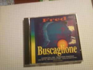 BUSCAGLIONE-FRED-FRED-STORY-16-TRACKS-CD-USATO