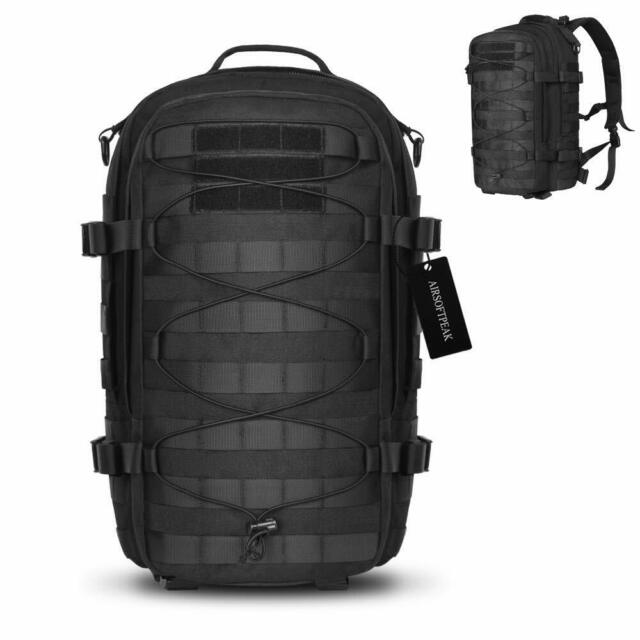 1000D Tactical Backpack Military Assault Pack Army Molle Bug Out Bag Daypack BK