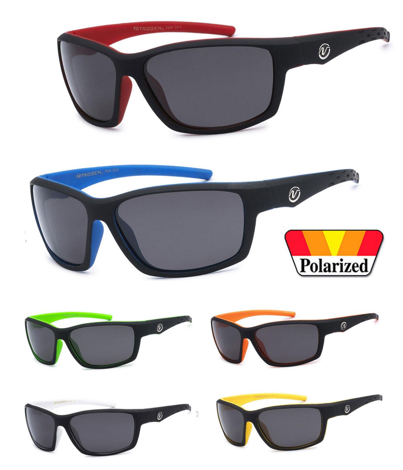 3507ea03af1 Nitrogen Polarized Sunglasses Mens Sport Running Fishing Driving Glasses  NT02