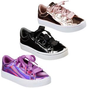 Kleidung & Accessoires Erfinderisch Skechers Hi-lites Liquid Bling Trainers Metallic Fat Laces Shoes Womens 958 KöStlich Im Geschmack Kleidung & Accessoires