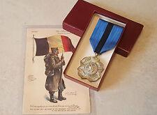 Médaille décoration honneur militariat ORDRE LEOPOLD II 1è CLASSE Belgique Medal