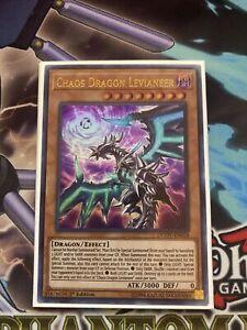 Yu-Gi-Oh Ultra Rare Chaos Dragon Levianeer 1st Edition DUOV-EN058 NM