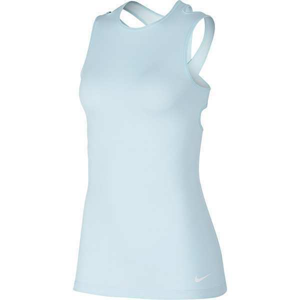 bfb20802a7a9f Women s Nike Dry Training Tank Glacier Blue Size M Retail for sale online