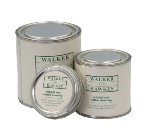 Original Wax Cotton Dressing Reproof protection for Clothing Walker and Hawkes