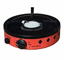 Mini Butane Camping Stove for Outdoor Cooking - Lightweight Portable Gas Burner