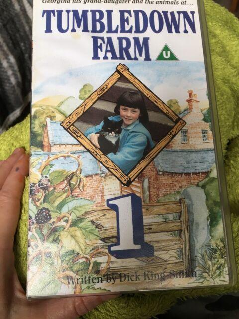 Tumbledown Farm 1: By Dick King-Smith - British Children's Programme - Pal VHS