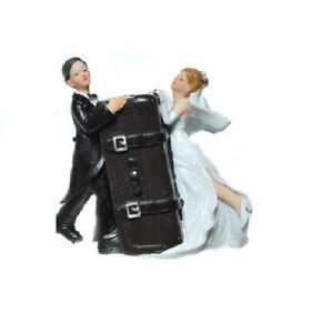 Piggy-Bank-Wedding-Bride-and-Groom-with-Case-Vertical-Honeymoon-Love-Money-Box