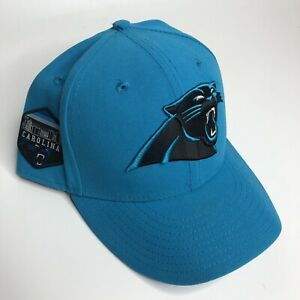 New Era Carolina Panthers Fitted Hat, size 7 5/8 Football NFL 59fifty