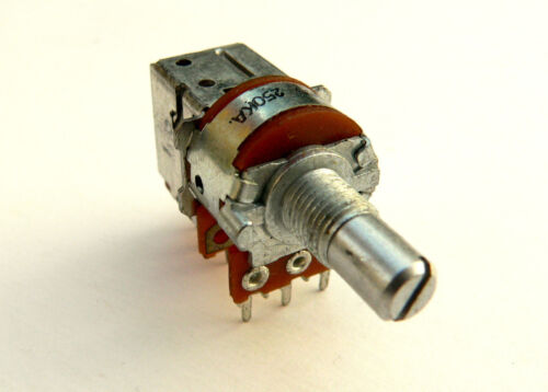 A250K switched push pull PCB pot fr amplifier tone//volume 250K log potentiometer