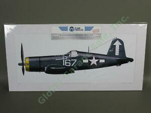 WWII-Navy-VF-84-Vought-F4U-1-Corsair-Fighter-Airplane-Art-Ace-Roger-Hedrick-167
