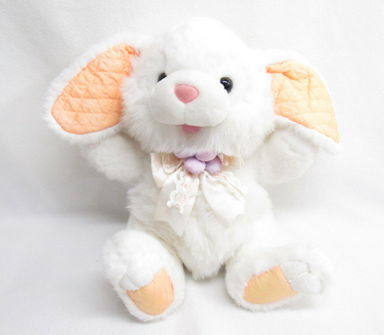 VTG FAIRVIEW BUNNY RABBIT PLUSH QUILTED NYLON