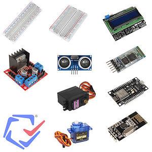 Detalles De Accesorios Para Arduino Protoboard Sensor Ultrasónico Módulos Bluetooth Wifi