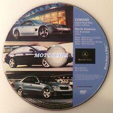 2004 2005 2006 2007 Mercedes Benz E320 E350 E500 E550 E55 AMG Navigation DVD Map