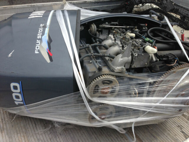 100hp Yamaha 4 stroke Outboard Parts Only