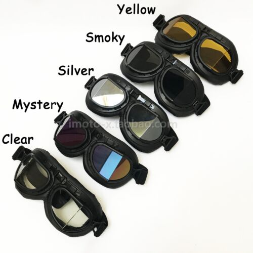 Motorcycle Goggles HARLEY Cuiser Ratro Style for Retro Helmet imoto-X