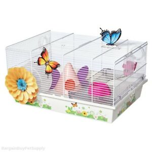 Midwest-Critterville-Hamster-Cage-Home-Butterfly-Design-White