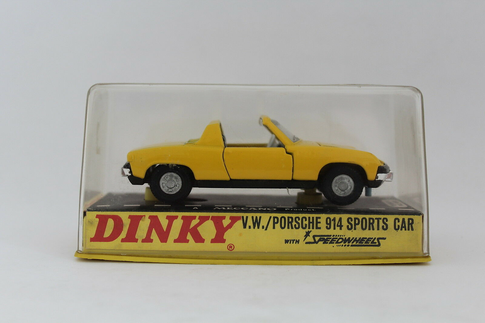 DINKY TOYS 208 V.W. V.W. V.W. VOLKSWAGEN PORSCHE 914 SPORTS CAR MECCANO NIB [OR3-14] be665e
