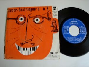 SUPER-BASTRINGUO-039-S-N-3-7-034-EP-1956-French-PHILIPS-424-030-PE-piano-brass-band