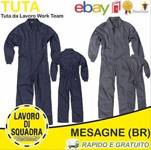 Tuta da Lavoro Meccanico Industria Industriale Abbigliamento Officina Meccanica