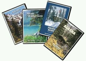 Alone-In-The-Wilderness-4-DVD-package-Brand-New-straight-from-producer