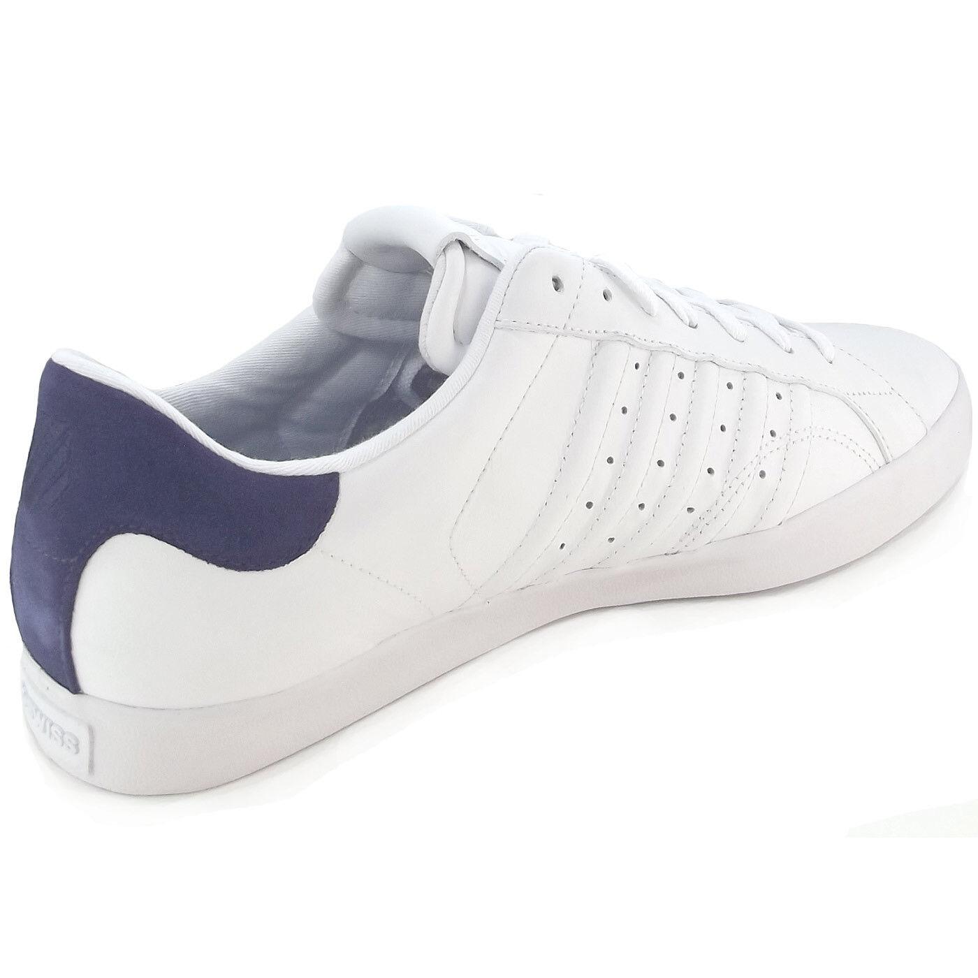 K-Swiss Belmont Herren Herren Belmont Sneaker weiß/navy (white/navy) 44677a