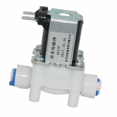 1/4 Plastik Elektrik Magnetventil Magnetisch Wasser Spender Durchlauf Offen & QualitäTswaren