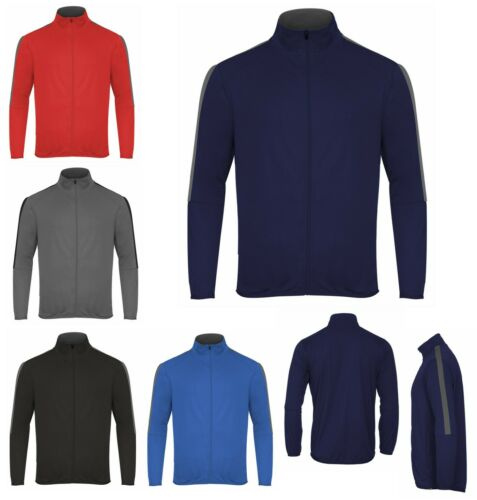 HEADSET OPENING DROP TAIL Details about  /MEN/'S FULL ZIP WIND JACKET XS-4XL ZIPPERED POCKETS