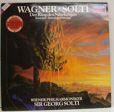 "WAGNER SOLTI DER RING DES NIBELUNGEN AUSZÜGE 12"" LP (d930)"