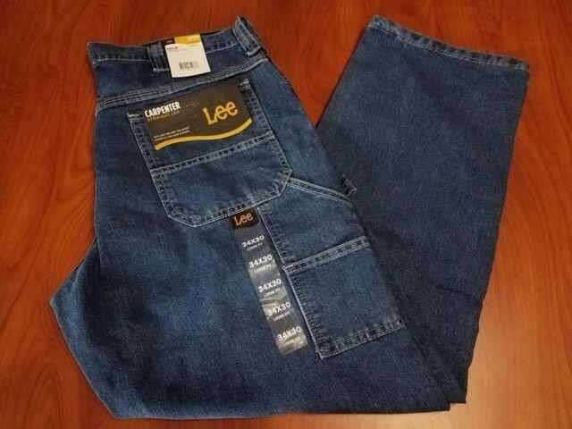 LEE Mens Loose-fit Straight Leg Carpenter Jean