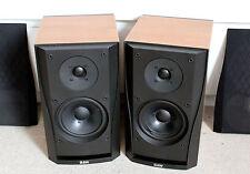 1Paar Bowers & Wilkins B&W DM302 Lautsprecher Boxen Kirsche Holzdekor gut selten