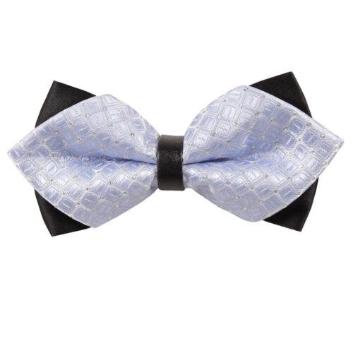 DQT formelle Casual Men/'s Diamond Tip Bow Ties