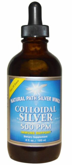 NEW NATURAL PATH SILVER WINGS COLLOIDAL SILVER IMMUNE SUPPORT DAILY BODY SUPPORT