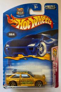 2003-HOTWHEELS-WRC-FORD-ESCORT-COSWORTH-RALLY-MOC-molto-rara