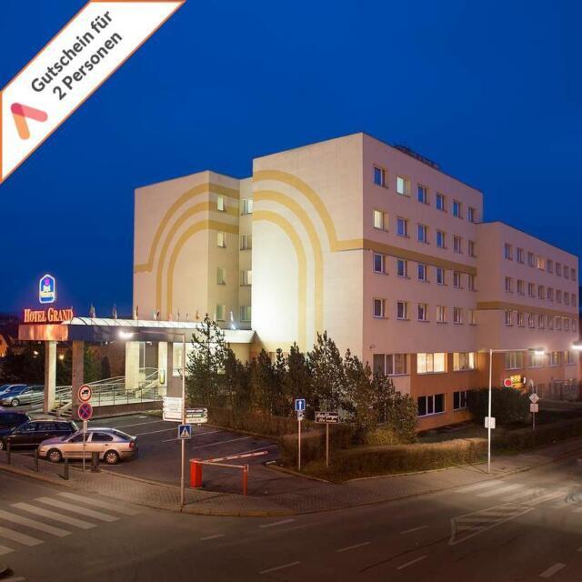 Städtereise Prag 4 Sterne Hotel Grand 3 Tage 2 Personen Kurzreise Kurzurlaub