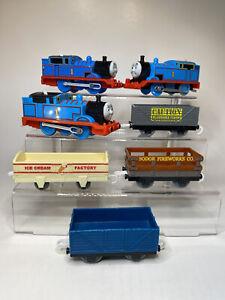 Thomas the Train Trackmaster Motorized Lot & Tender So for Ice Cream Coal Mixed