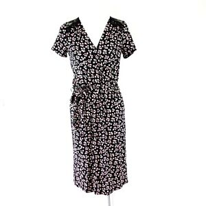 Expresso Damen Kleider Jerseykleid Modell Hope Jersey Geblumt Wickeloptik Neu Ebay