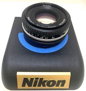 Ausgezeichnete-Nikon-AI-S-Nikkor-50mm-f-1-8-Kamera-Prime-Objektiv-Manueller-Fokus