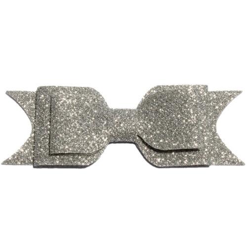 9.5cm Three Layers Glitter Gold Powder Shiny Hair Bows for Hair Clip Accessories