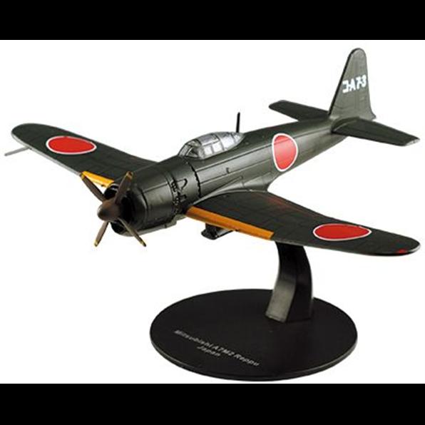 """Ixo/Deagostini 1/72 Mitsubishi A7M2 Reppu ("""" Sam """") Japón WWII de Luchador 17"""