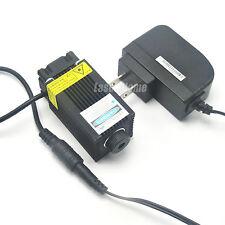 Focusable 405nm 200mW 5V Blue/Violet Laser Dot Module w/ Fan colling & Adapter