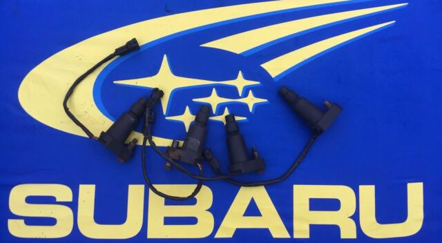 SUBARU IMPREZA COIL PACKS with pigtails Classic V1 V2 STI WRX X 4